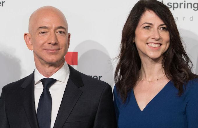 Jeff Bezos, divorce