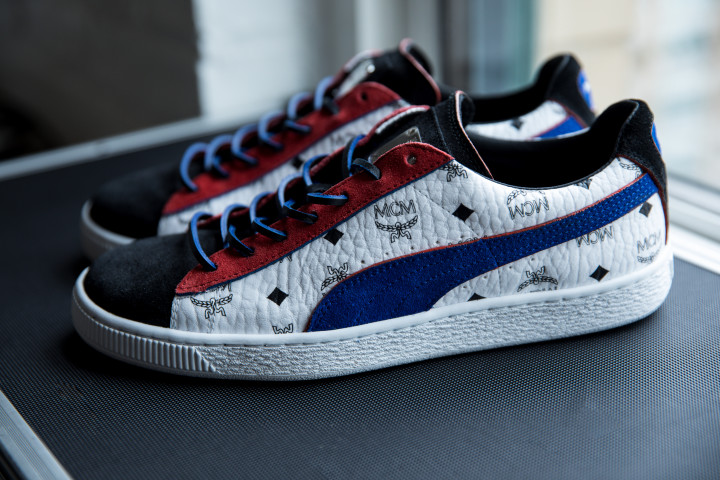 8695aff1e94d3 MCM Lends Its Iconic Monogram to Classic PUMA Silhouettes for an ...
