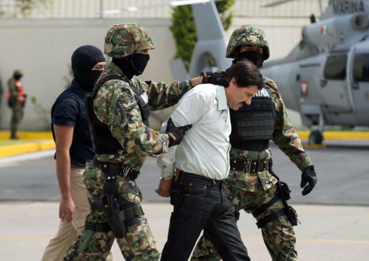 El Chapo's arrest in 2014