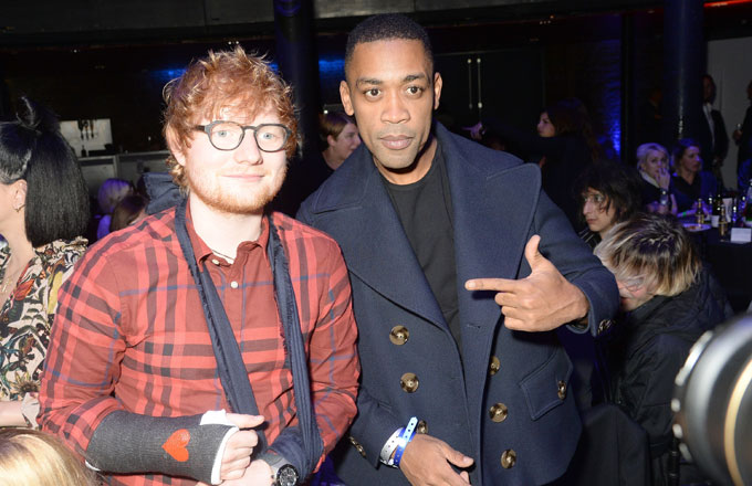 Ed Sheeran and Wiley