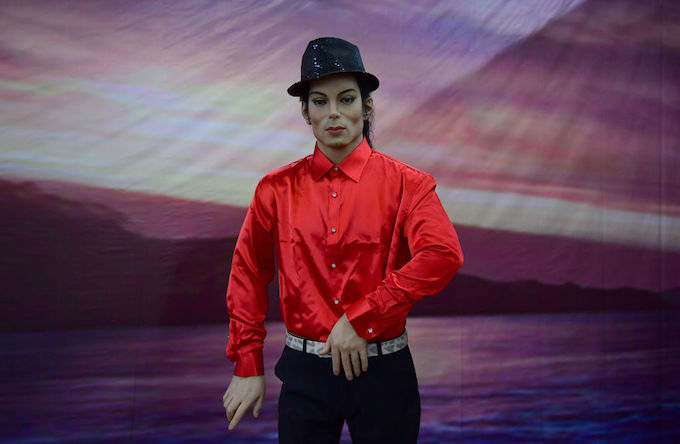 This is a picture of Michael Jackson.