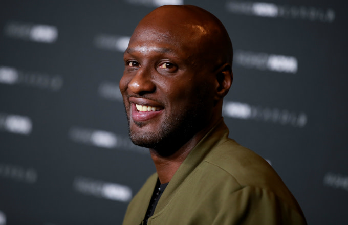 Lamar Odom attends the Fashion Nova x Cardi B Collection Launch