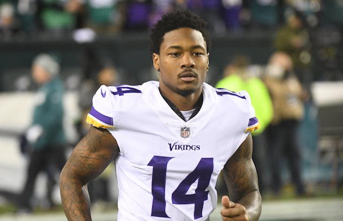 Minnesota Vikings wide receiver Stefon Diggs.