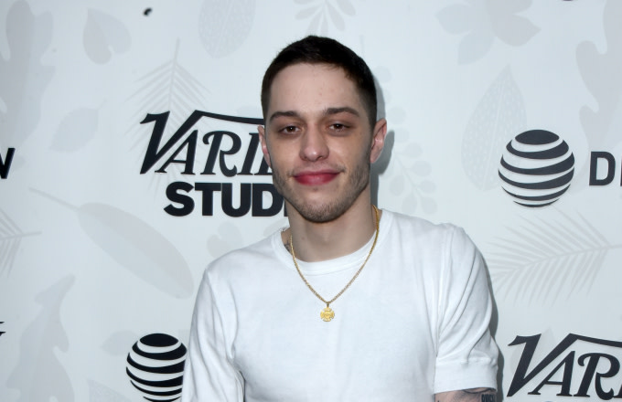 """Pete Davidson at the """"Big Time Adolescence"""" afterparty"""