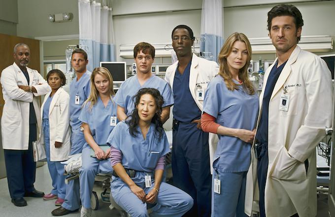 """""""Grey's Anatomy"""" cast."""