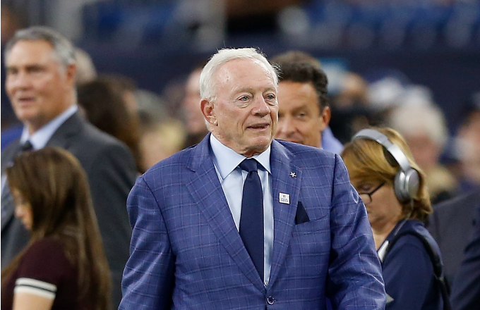Jerry Jones, owner of the Dallas Cowboys