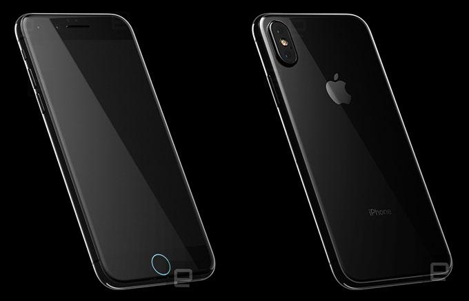 iphone 8 rumored look
