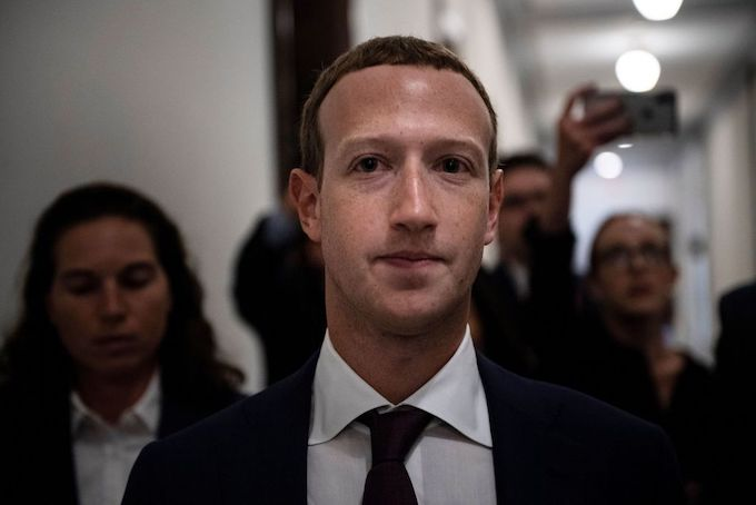 This is a picture of Mark Zuckerberg.
