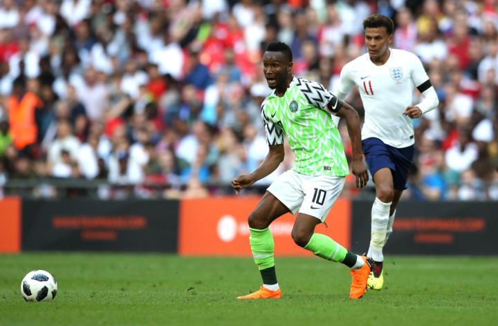 Nigeria Friendly England World Cup Kit 2018 Getty