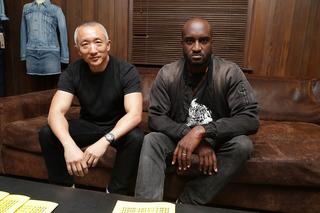 This is Levi's Made & Crafted collaboration with Off-White's Virgil Abloh.