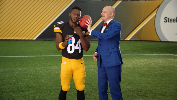 Antonio Brown Pittsburgh Steelers Pepsi Ad