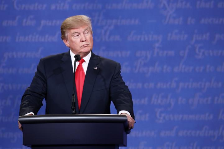 Trump at last presidential debate