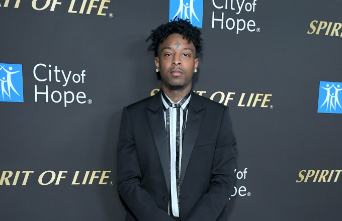 21 Savage attends City Of Hope Spirit Of Life Gala
