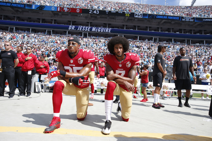 Eric Reid and Colin Kaepernick