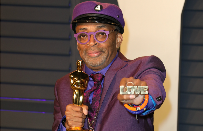Spike Lee attends the 2019 Vanity Fair Oscar Party