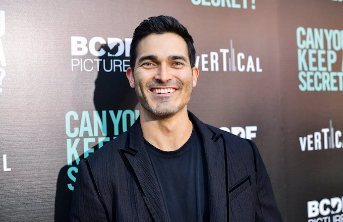 "Tyler Hoechlin attends the premiere of Vertical Entertainment's ""Can You Keep A Secret?"""