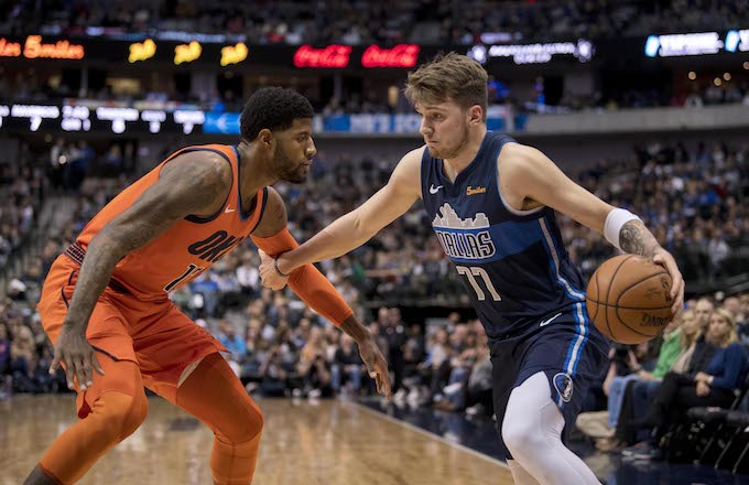 Paul George, Luka Doncic