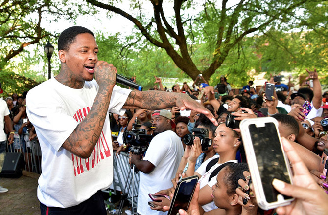 This is a photo of YG.