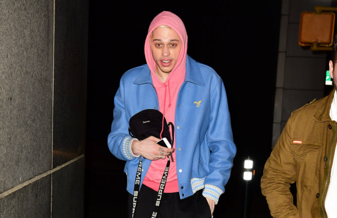 Pete Davidson seen on the streets of Manhattan