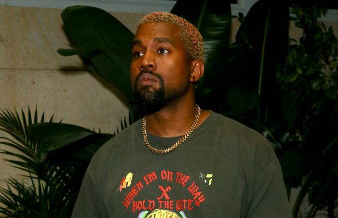 Kanye West attends Prada Mode Miami Night 3