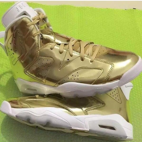 """Air Jordan VI Pinnacle """"Metallic Gold"""""""