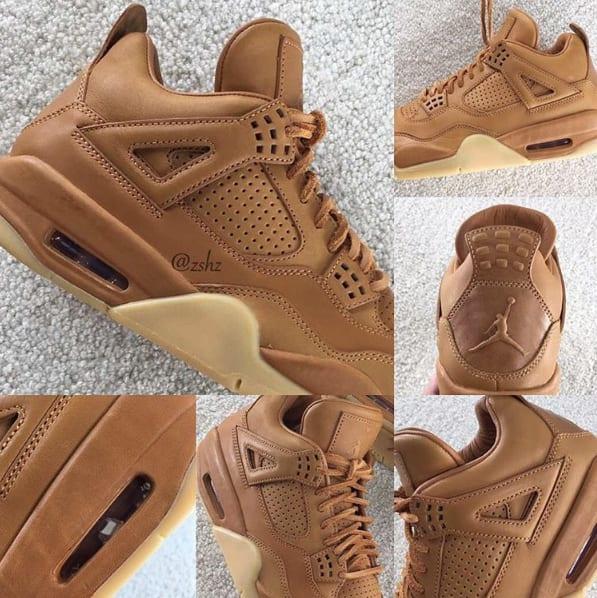 """Air Jordan IV Premium """"Ginger"""""""
