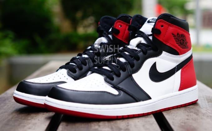 """Air Jordan 1 High OG """"Black Toe"""""""