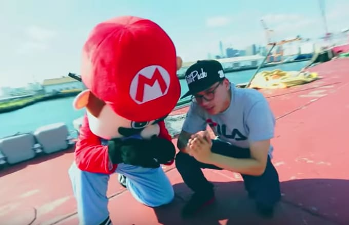 Logic Super Mario World rap music videos 2016