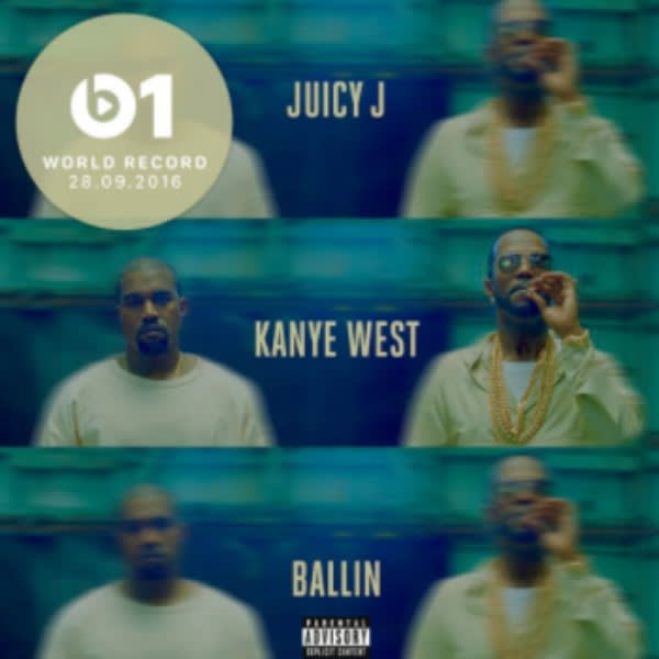 Juicy J ft. Kanye West Ballin retronew