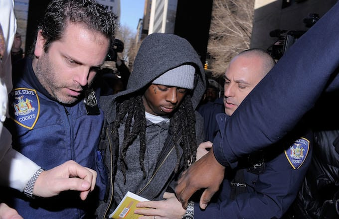 "Lil Wayne Was ""Nervous as Hell"" to Rap for Inmates at Rikers Island news"