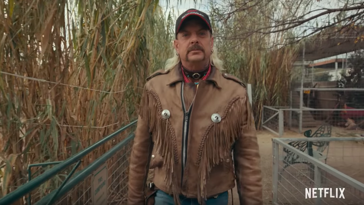 'Tiger King' Star Joe Exotic 'Absolutely Thrilled' With Newfound Fame