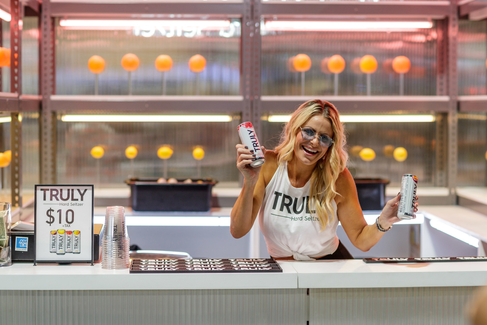 Truly Hard Seltzer Lights Up ComplexCon