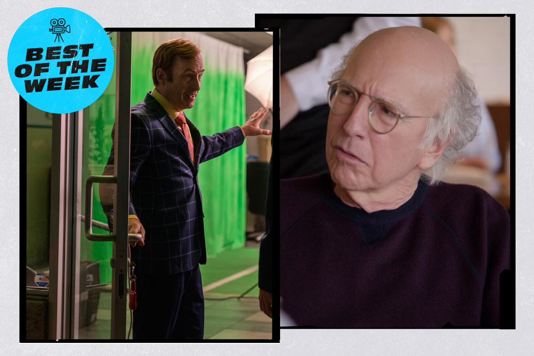 The Best New TV Shows & Movies This Week: 'Curb Your Enthusiasm,' 'Better Call Saul,' and More
