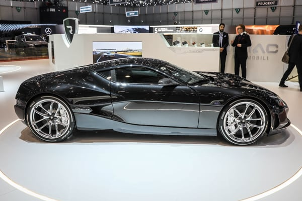 Most Expensive Cars Rimac Concept One
