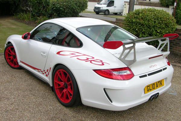 21. 2001 Porsche GT3 RS