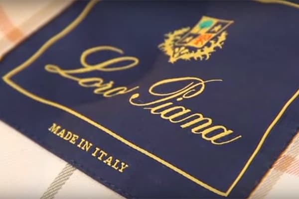 50 Greatest Menswear Brands Loro Piana