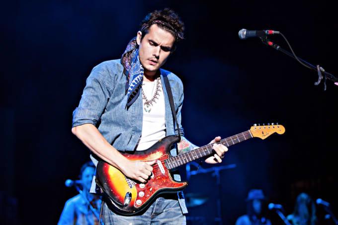 John Mayer Tour Screen Background