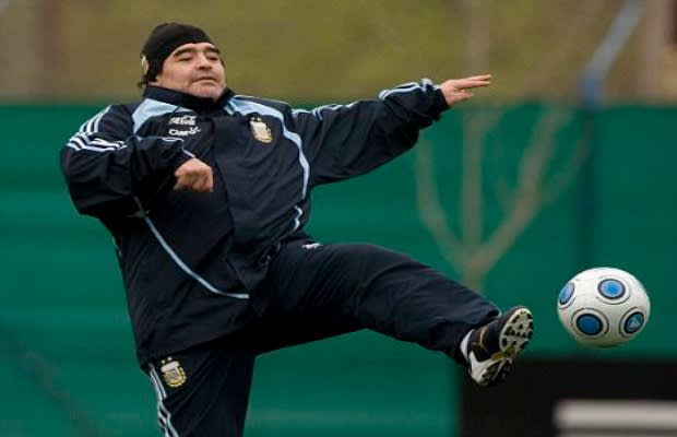diego maradona playing style - photo #30