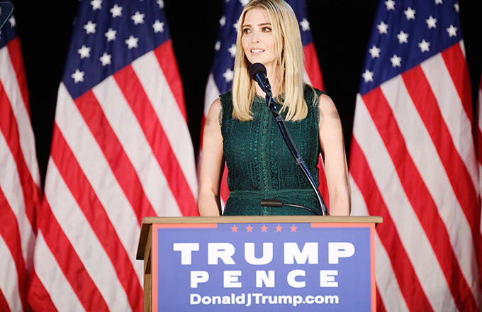 Protesters stage candlelit vigil urging Ivanka Trump to stand up to father