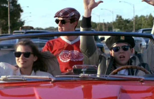 Ferris Bueller No Hands Joy Ride