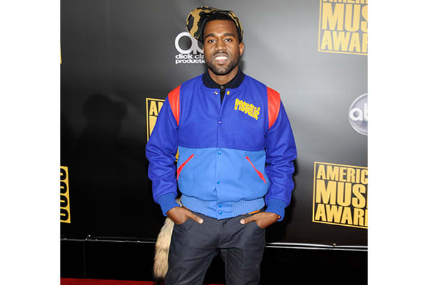 100-best-kanye-west-outfits-amas-blue-jacket-and-hat