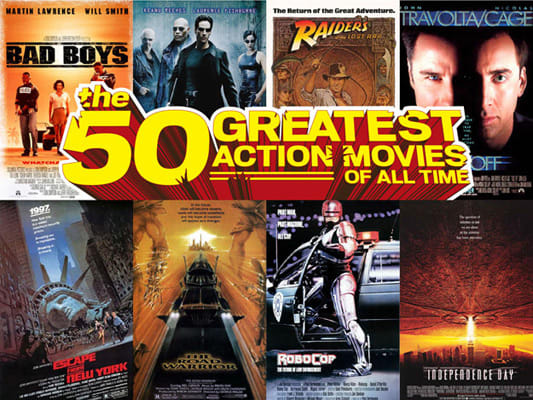 50 Greatest Action Movies of All Time