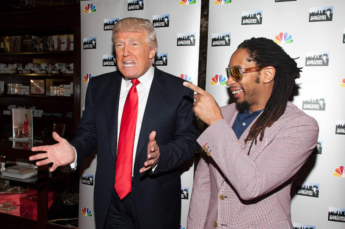 Donald Trump Repeatedly Called Lil Jon an 'Uncle Tom,' Say 'Apprentice' Staff news