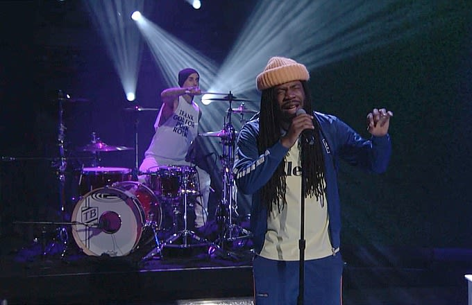 Watch Dev Hynes' Powerful Tribute to Murder Victims on 'Conan' news