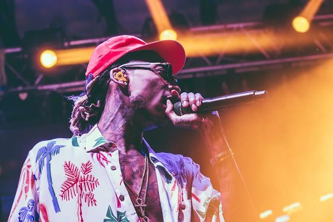 Wiz Khalifa at Fresh Island Festival (Day 1)