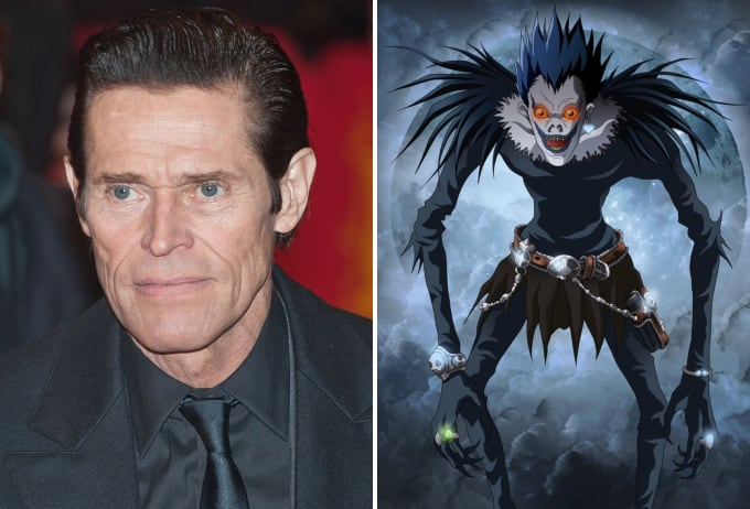 willem dafoe is going to voice the shinigami in netflix s death