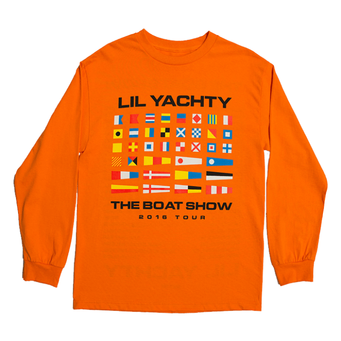 Lil Yachty Boat Show Tour Shirts