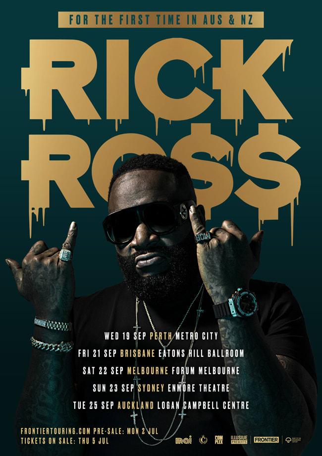 Rick Ross Announces 2018 Australian Tour