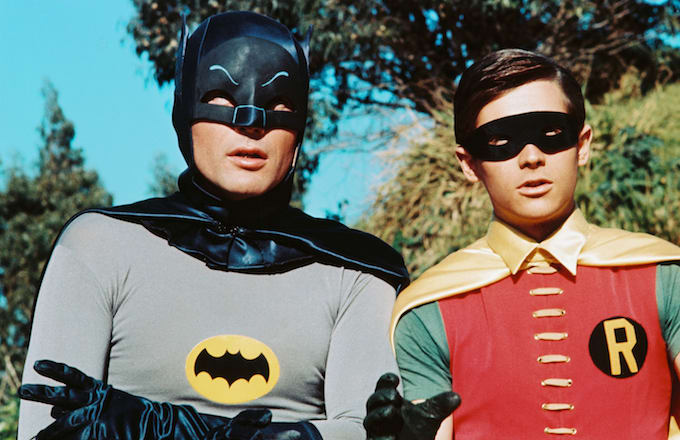 'Batman' with Adam West and Burt Ward