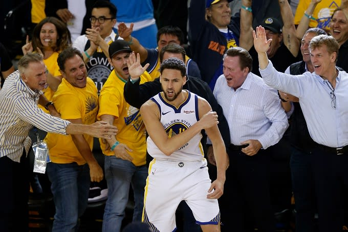 fecb2c9c58f Klay Thompson Rejects Rumors That He s Unhappy with Warriors